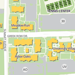 Campus Map The University Of Texas At Arlington