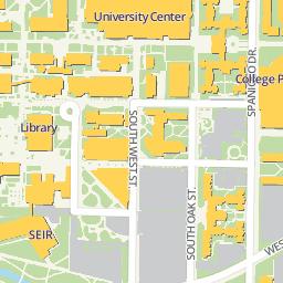 university of texas at arlington campus map Campus Maps The University Of Texas At Arlington
